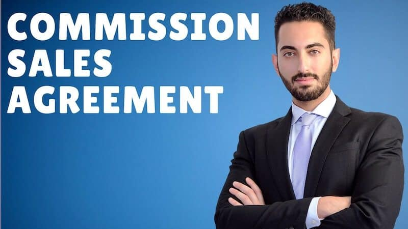 Commission Sales Agreement A StepByStep Guide