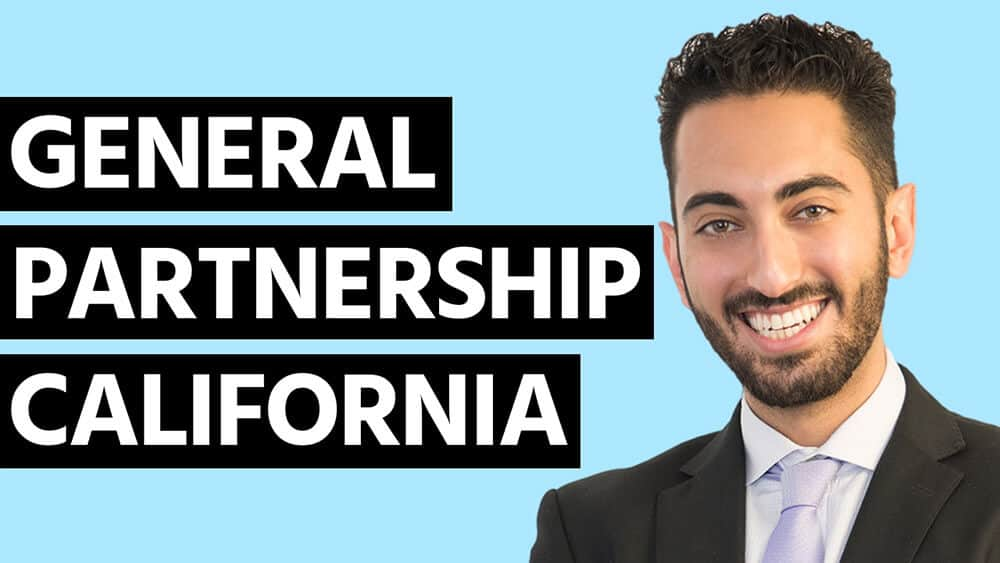 General Partnership California