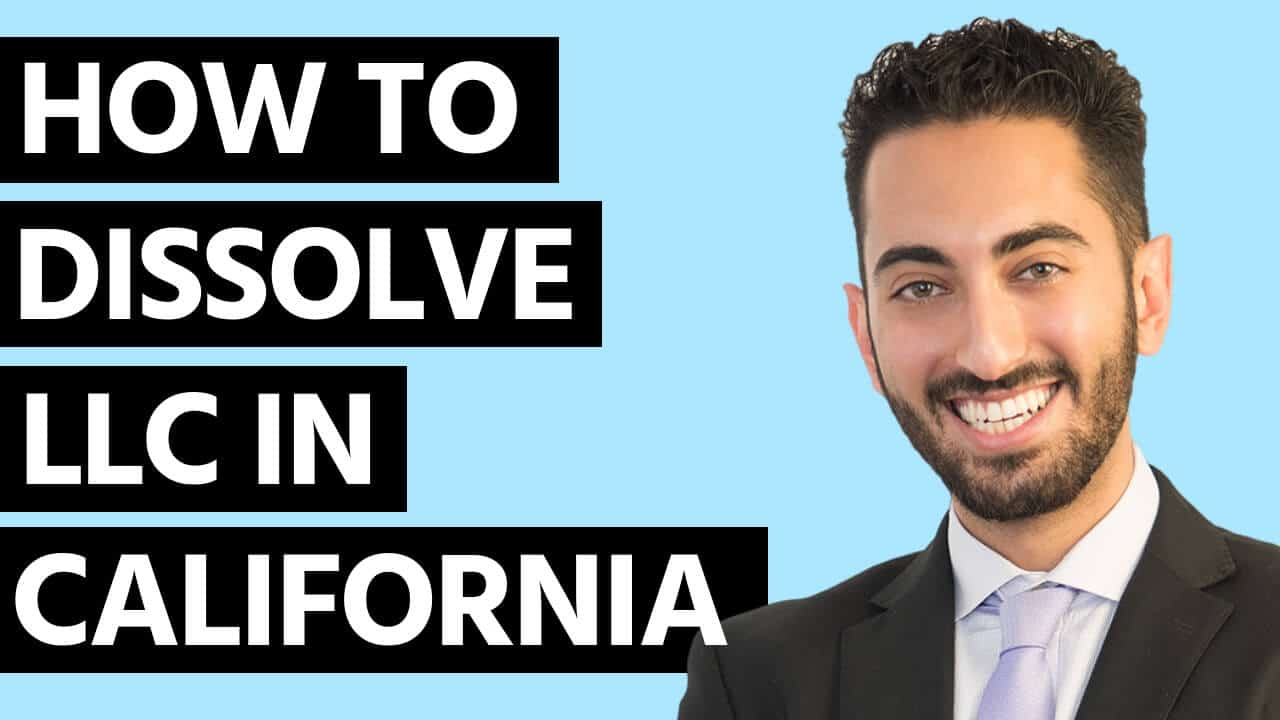 How to Dissolve LLC in California