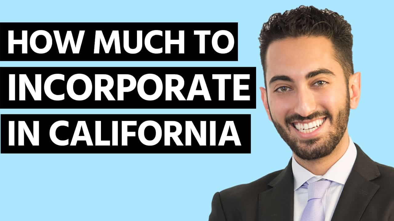 How Much Does It Cost to Incorporate in California