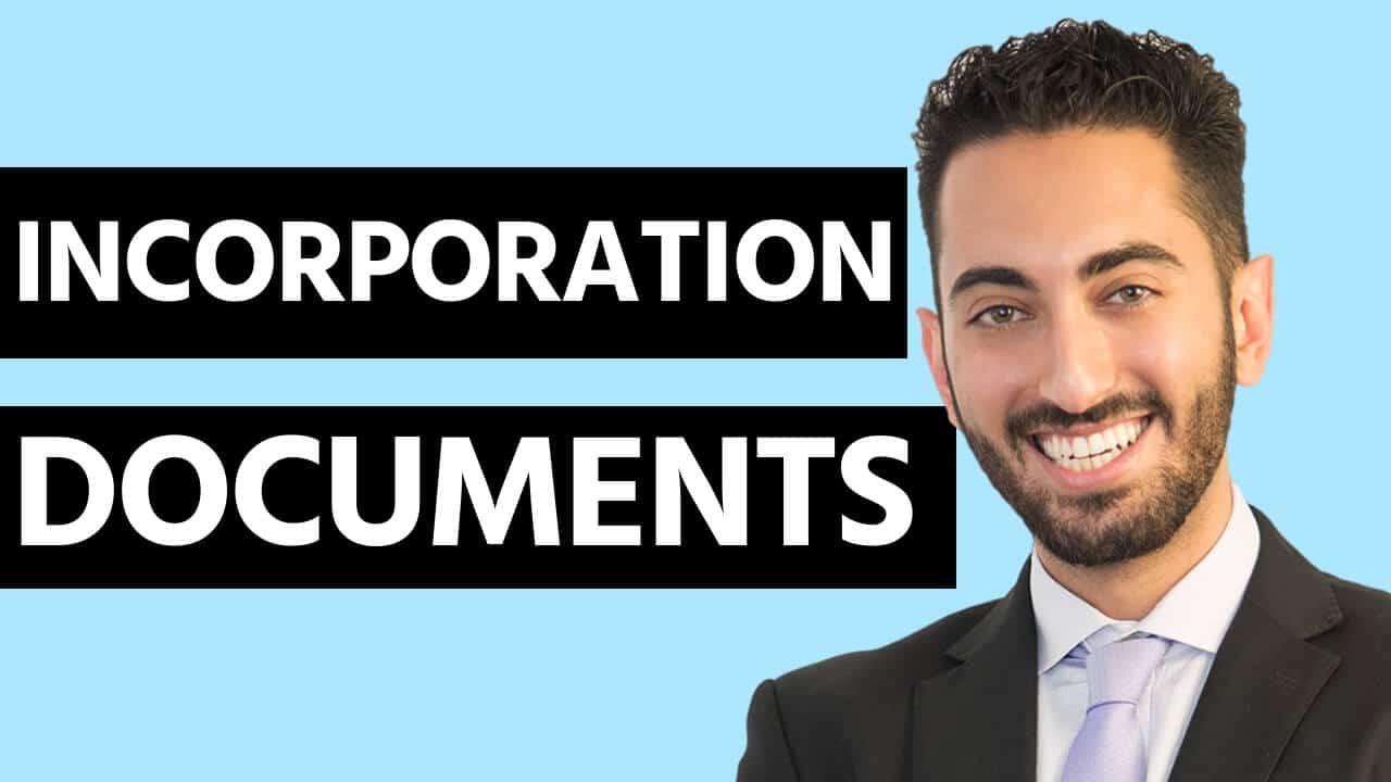 Incorporation Documents