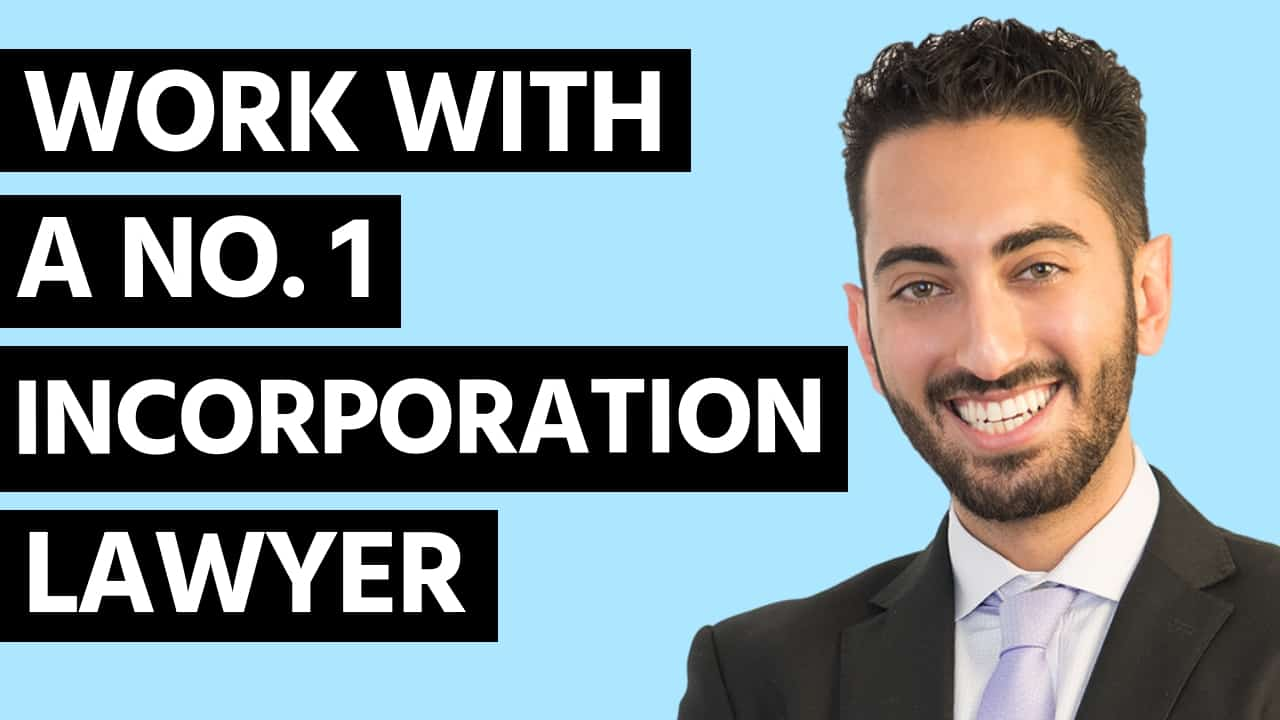 Work with a #1 Rate Incorporation Lawyer