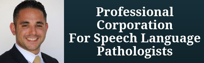 Speech Language Pathologist Corporation